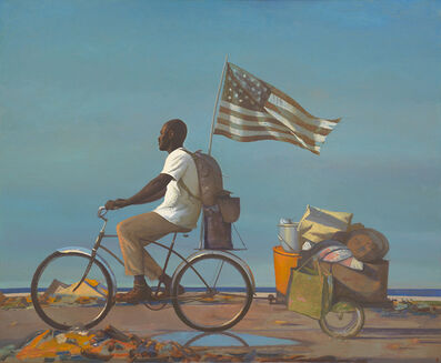Bo Bartlett, 'Homeless III', 2019