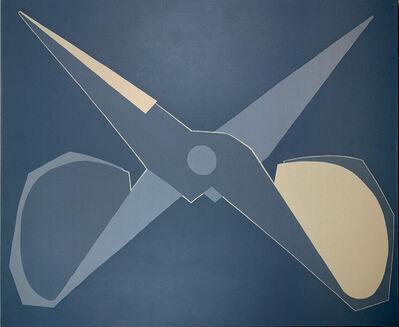 Mao Xuhui 毛旭辉, 'Outline, Black-grey Scissors, Open ', 2008