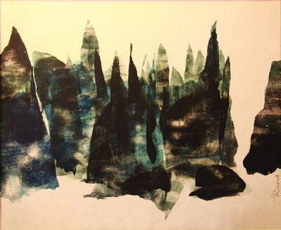 Chu Weibor, 'Moutain Peaks 眾山會', 1971