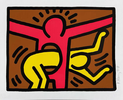 Keith Haring, 'Pop Shop IV (C)', 1989