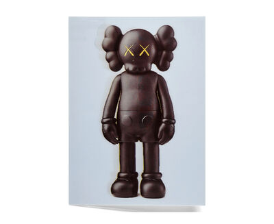 KAWS, 'KAWS x NGV Lenticular Postcard (Black)', 2019
