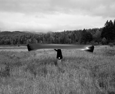 Rodney Smith, 'Man with Canoe on Head, Saranac, New York, 1994', 1994