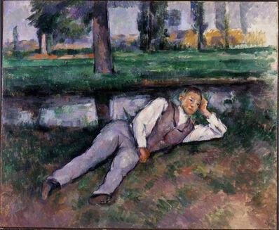 Paul Cézanne, 'Boy Resting', ca. 1887