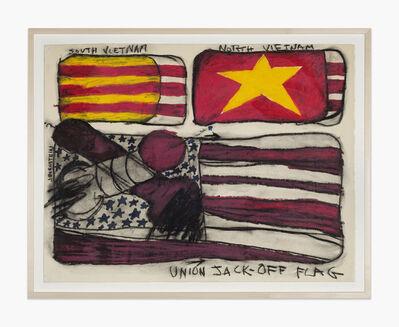 Judith Bernstein, 'Union Jack Off Basel', 1967