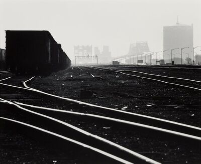 David Plowden, 'Railroad Yards, South Chicago', 1966