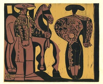 Pablo Picasso, 'Picador et Torero', 1962