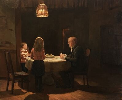 Kelly Carmody, 'Winter Evening Around the Table', 2019
