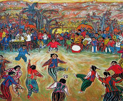 Huanqing Wang, ' Village Arena ', 1985