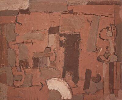 Pietro Cascella, 'Composizione Astratta', 1960