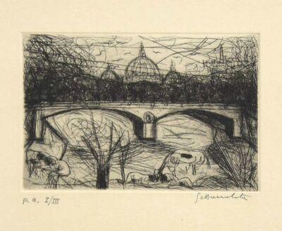 Nazareno Gattamenata, 'St Peter's View', Late 20th Century