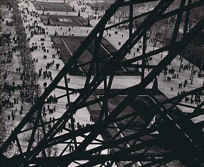 Ilse Bing, 'Champ de Mars, Vu de la Tour Eiffel', 1931/1950c
