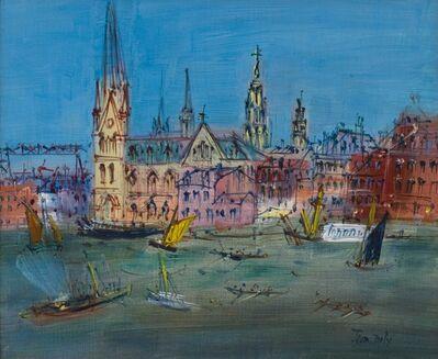 Jean Dufy, 'Le Rhin - 'Scène de Port'', 1953-1955