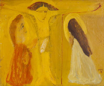 Irakli Parjiani, 'Crucifixion', 1989