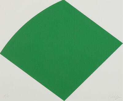 Ellsworth Kelly, 'Green Curve', 1996