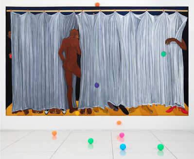 Richard Mudariki, 'Us and them', 2018