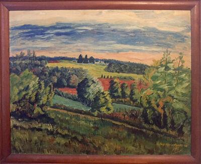 Joseph Meierhans, 'Landscape', 1948
