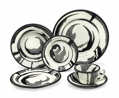Roy Lichtenstein, 'Dinnerware: ten place settings', 1966