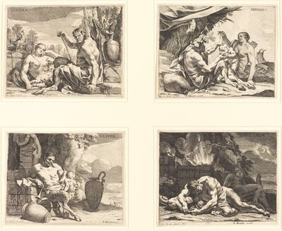 Charles Le Brun, 'The Four Times of Day', ca. 1640