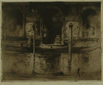Sir David Young Cameron, 'The Palace Doorway (Palace of Joannis Darius), Venice', 1895