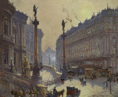 Colin Campbell Cooper, 'Place de l'Opera, Paris', ca. 1906-1911