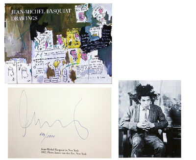 """Jean-Michel Basquiat, '""""DRAWINGS"""", SIGNED Edition Bruno Bischofberger, SIGNED & Numbered 684/1000.', 1985"""