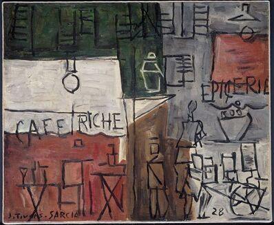 Joaquín Torres-García, 'Cafe Riche', 1929