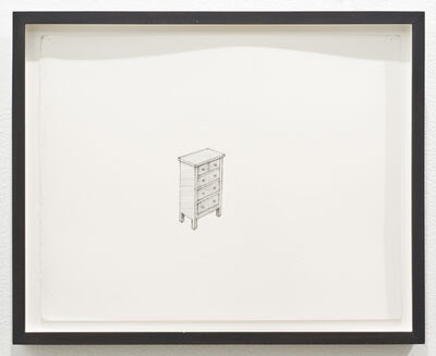 Roy McMakin, 'Untitled (chest of drawers)', 2011