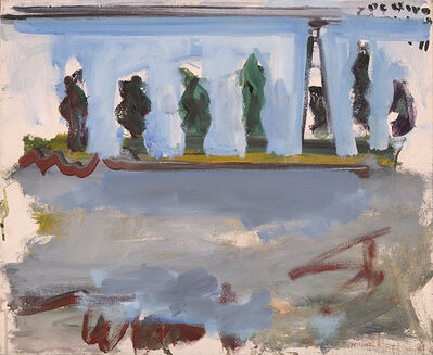 Robert De Niro, Sr, 'Landscape with Trees and Lighthouse ', 1968