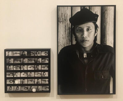 Claudia Andujar, 'Horizontal e Vertical (Ericó, RR) - da série Marcados', 1983