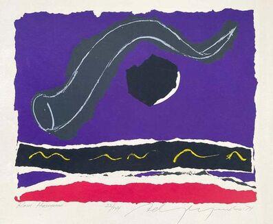 Adja Yunkers, 'Rosh Hashana', 1974