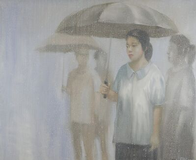 Attasit Pokpong, 'Walking in the rain III', 2007