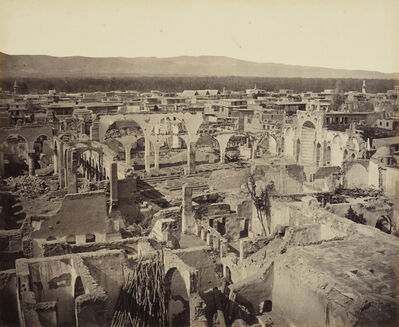 Francis Bedford, 'Ruins of the Greek church in the Christian quarter, Damascus [Syria]', 30 April 1862