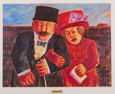 Franz Borghese, 'The couple', 2015