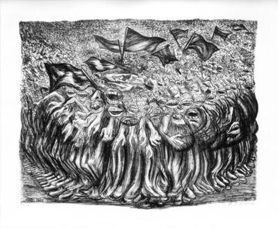 """José Clemente Orozco, '""""Las Masas""""', 1935"""