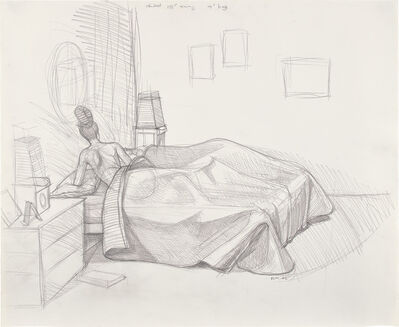 Kerry James Marshall, 'Preliminary Sketch for Black Painting', 2002