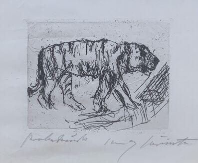 Lovis Corinth, 'Tiger', 1917/1918