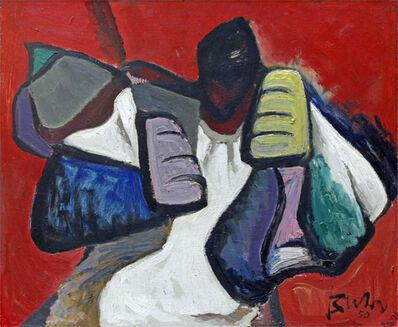 Jack Bush, 'THE FIGHTER', 1950