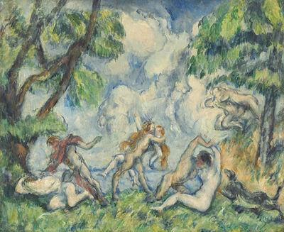 Paul Cézanne, 'The Battle of Love', About 1880