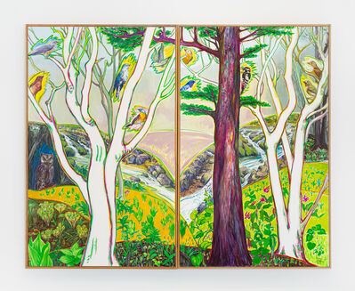 Kim Yongchul, 'Walking into the Forest', 2014