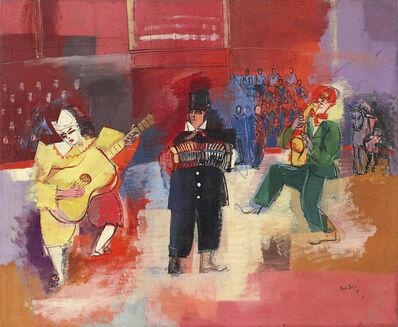 Jean Dufy, 'Trio de clowns musiciens or Les trois Fratellini au cirque Medrano', 1927
