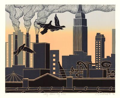 Emily Trueblood, 'Long Island City View.', 1996