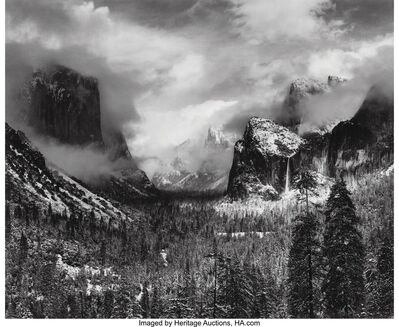 Ansel Adams, 'Clearing Winter Storm, Yosemite National Park', 1937