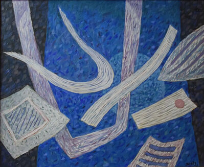 Henri Goetz, 'Composition in bleu ', ca. 1970