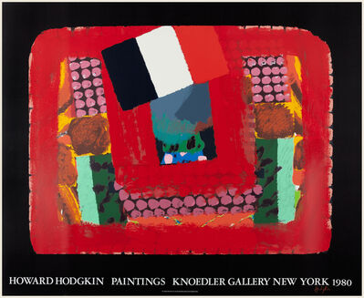 Howard Hodgkin, 'In a French Restaurant ', 1980