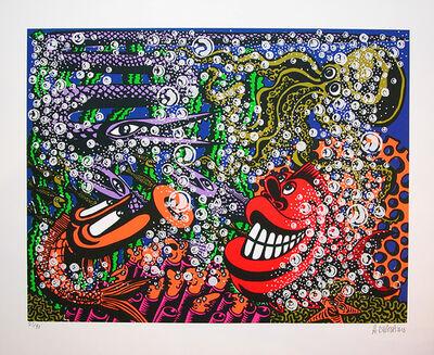 "Hervé Di Rosa, 'original silkscreen signed by the artist ""La Compagnie sous-marine""', 2016"