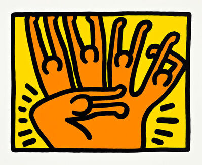 Keith Haring, 'Pop Shop VI', 1989