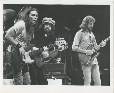 Globe Photo Archives, 'The Eagles Performing with Bob Seger 1980's', ca. 1980's