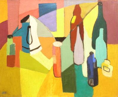 Morris Blackburn, 'Still Life with Bottles '