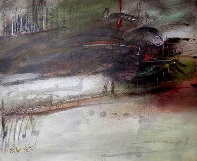 P Gnana, 'Mind Echo series - 02', 2005