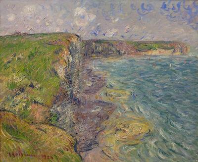 Gustave Loiseau, 'Les Falaises d' Yport, (Cliffs at Yport)', 1924
